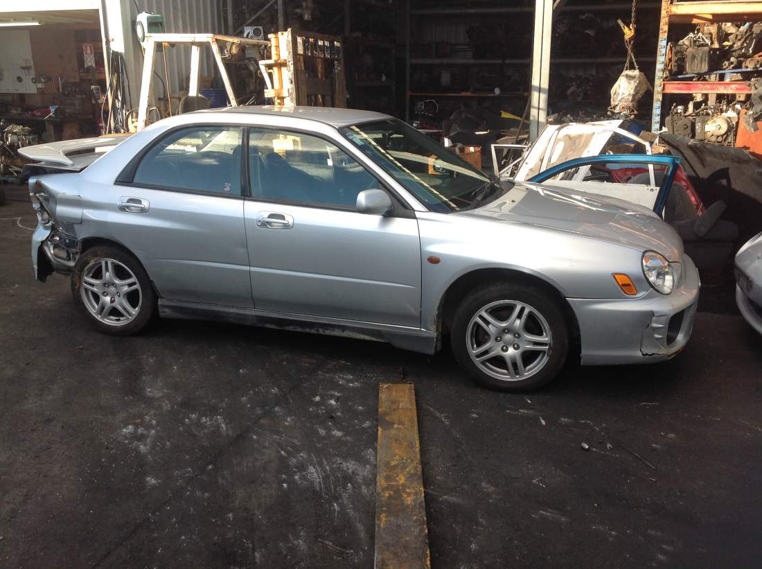 2002 Subaru Impreza 2.5RX manual